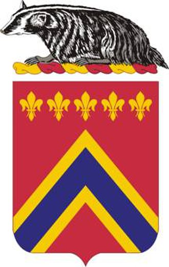 Wisconsin Army National Guard - Image: 120FARegt COA