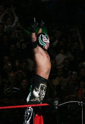 Mexican National Welterweight Championship - Rey Misterio, Jr., the 52nd Mexican National Welterweight Champion