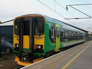 West Midlands Trains - Image: 153371 Bedford
