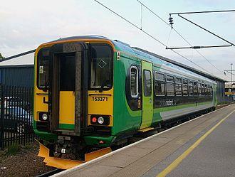 West Midlands Trains - Image: 153371 Bedford