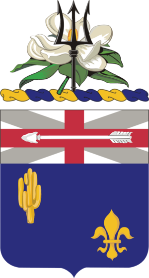 155th Infantry Regiment (United States) - Coat of arms