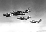 164th Tactical Fighter Squadron - Four F-84F Thunderstreaks.jpg