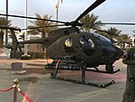 17- Saudi Arabian National Guard AH-6 Little Bird (My Trip To Al-Jenadriyah 32).jpg