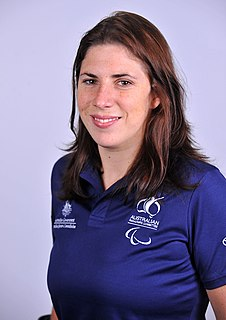Katrina Porter Australian Paralympic swimmer