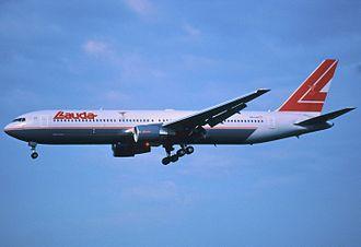 Lauda Air Flight 004 - Image: 178al Lauda Air Boeing 767 3Z9ER, OE LAE@ZRH,29.06.2002 Flickr Aero Icarus