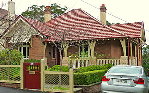 Gordon, New South Wales - Image: 17 Nelson Street Gordon