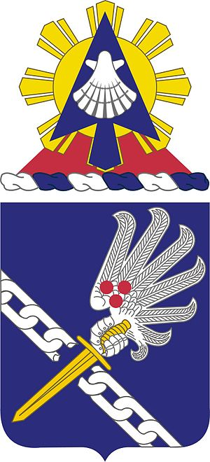 188th Infantry Regiment (United States) - 188th Infantry Regiment coat of arms.