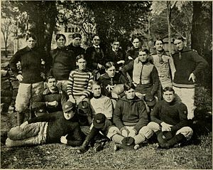 1897 North Carolina Tar Heels football team - Image: 1897 North Carolina football team