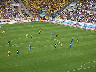 TSG 1899 Hoffenheim - Hoffenheim against Borussia Dortmund in August 2011