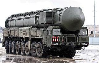 RT-2PM2 Topol-M Intercontinental ballistic missile