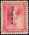 1900 2P Nicaragua Telegrafos linear used YvT74.jpg