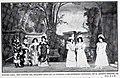 """1907-12-14, Blanco y Negro, Teatro Lara, Una escena del segundo acto de la comedia """"Los intereses creados"""", de D. Jacinto Benavente.jpg"""