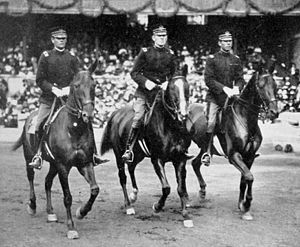 Ben Lear - Lear (right) on the 1912 U.S. Olympic Equestrian team