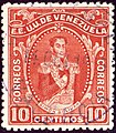 1914 10c Venezuela Valencia Yv132 Mi94.jpg