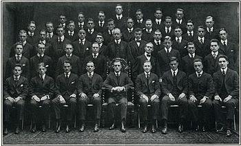 Der Penn Glee Club von 1915-1916