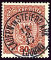 1917 Laufen in Steiermark Ljubno 80h.jpg