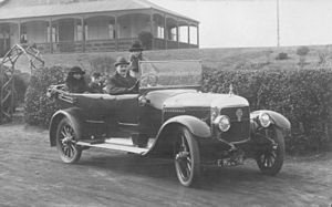 Vulcan (motor vehicles) - A 1922 Vulcan 20 HP Tourer
