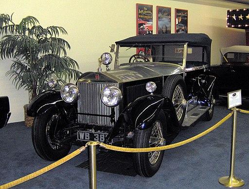 1927 Rolls-Royce Phantom I Windover Tourer