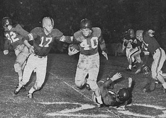 Houston Cougars football - Ole Miss at Houston during the 1952 season under Lee