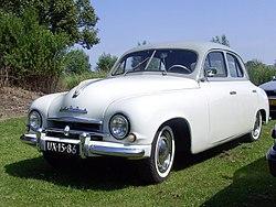 sedan Škoda 1200