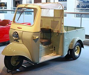 Daihatsu - Daihatsu Midget Model DKA, 1957