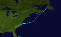 1964 Atlantic tropical storm 2 track.png