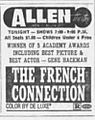 1972 - Allen Theater Ad - 12 May MC - Allentown PA.jpg