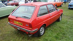 Ford Fiesta - MK1 rear