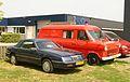1990 Chrysler Le Baron Convertible 3.0i Aut. & 1972 Ford Transit (9074841579).jpg