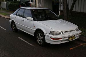 Honda Concerto - Image: 1991 Honda Concerto (MA2) EX i Reprise hatchback (27362723083)