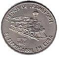 1 песо. Куба. 1983. Транспорт Кубы - Железная дорога.jpg