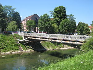 Hradecky Bridge - Image: 20 Mrtvaski Most Lj