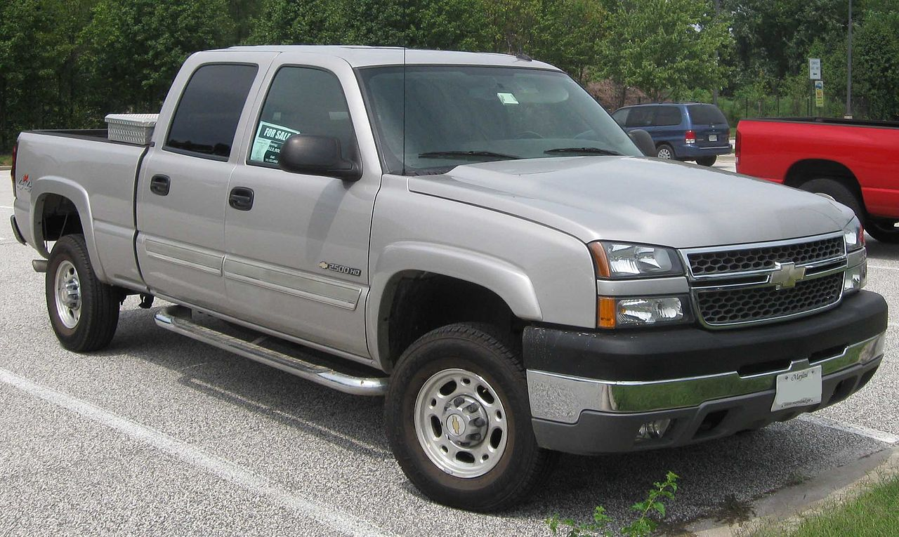 File 2005 Chevrolet Silverado 2500hd Jpg Wikimedia Commons