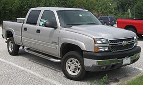2006 chevy 2500 engine specs
