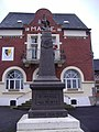 2006-12-08 Roclincourt Town Hall, Pas-de-Calais, France..JPG