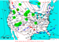 2007-02-28 Surface Weather Map NOAA.png