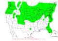 2007-03-03 24-hr Precipitation Map NOAA.png