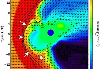 Solar cycle 24 - The 2008 breach of Earth's magnetic shield