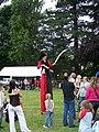 2009 Oughtibridge Gala ... Stilt Walker - geograph.org.uk - 1628245.jpg