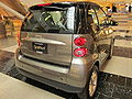 2010 gray Smart ForTwo Passion Coupe rear.JPG