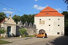 Schloss in Trzebina bei Prudnik (Quelle: Wikimedia)