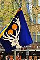 2012 Sechseläuten - Gesellschaft zu Fraumünster - Flagge 2012-04-16 14-50-28.JPG