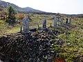 2013-01-05 Wood stûpa Graves in Ogo,Kobe,Hyogo prefecture 神戸市北区淡河町の墓地と木製卒塔婆 DSCF4084.JPG