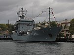 2013-08-30 Севастополь. Вспомогательное судно A512 Mosel ВМС Германии (20).JPG