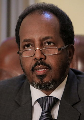 Somali presidential election, 2017 - Image: 2013 04 19 President Hassan Sheik Mohamud c (8667048035) (cropped)
