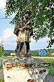 2013 Piotrowice koło Karwiny, Pomnik św. Jana Nepomucena 03.jpg