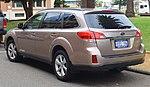 2013 Subaru Outback (BR9 MY14) 2.0D station wagon (2018-10-12) 02.jpg