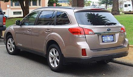Subaru Legacy (fifth generation) - Wikiwand
