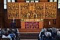 2014-03-16 Festival der Philosophie, Hannover, 90, Marktkirche, Gerechtigkeit in der post-humanen Gesellschaft, (028) Begrüßung durch Oberbürgermeister Stefan Schostok.jpg