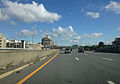 2014-08-28 09 47 00 View north along Interstate 787 near milepost 2.0 in Albany, New York.JPG